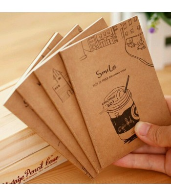 Mini Note Book Design A