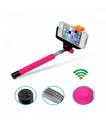 Monopod with Built-in Remote Button