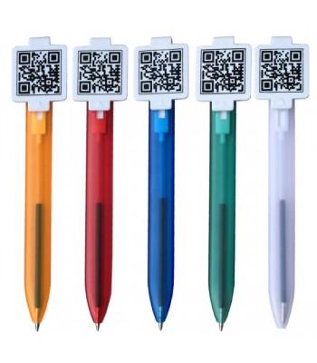 QR Code Cum Bookmark Pen
