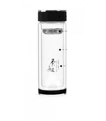 Borosilicate Glass Bottle with Tea Infuser