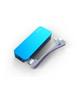 Portable Charger with Dual Cable