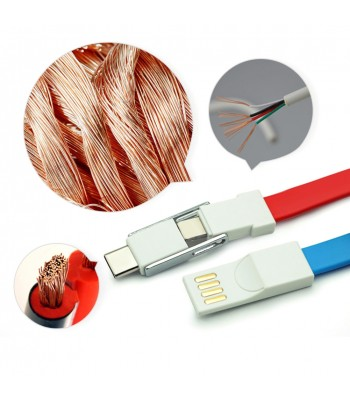 3 in 1 Magnetic Cables