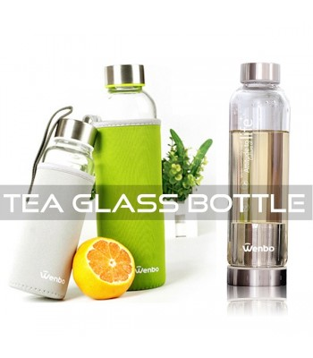 Tea Glass Bottle
