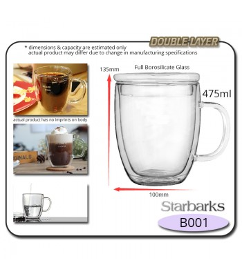 Borosilicate Glass Cup
