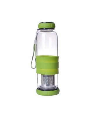 Borosilicate Glass Bottle with Tea Infuser