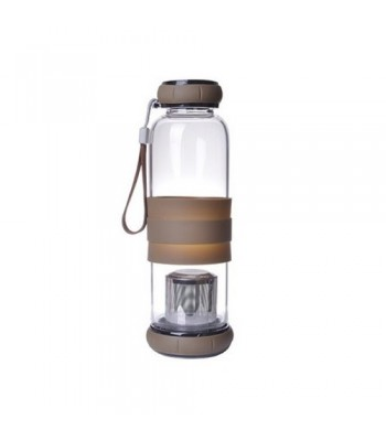 Glass Bottle with Tea Infuser