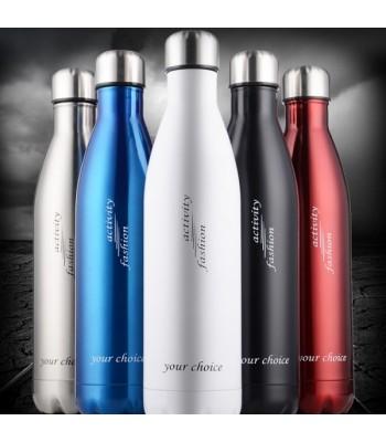 Coloured Stainless Steel Bottle