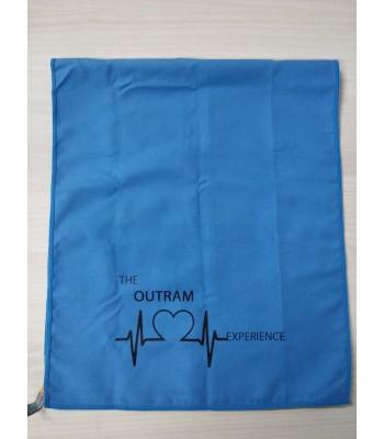 Towel with silkscreen